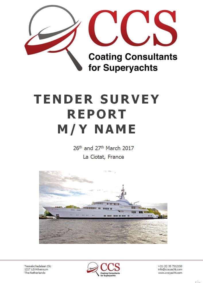 Tender Survey Report
