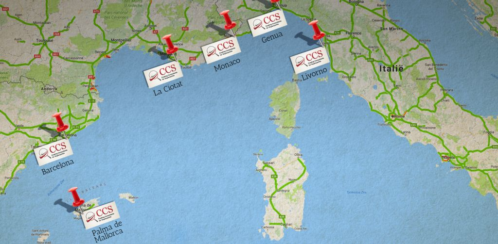 CCS present in Mediterranean